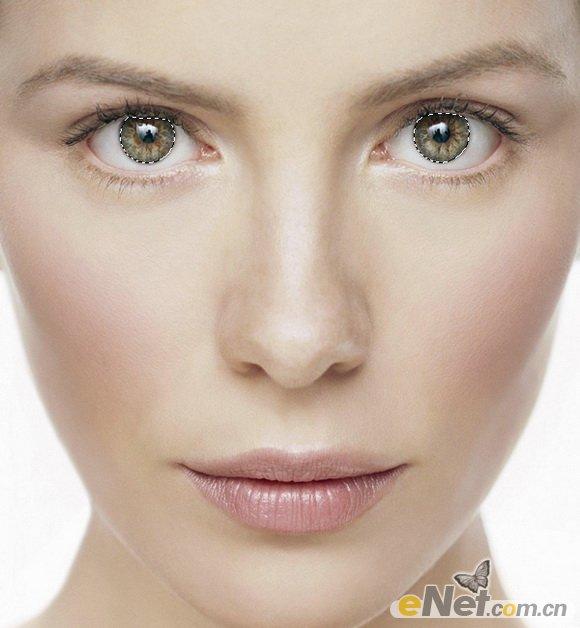 ps人物脸部化妆教程图片