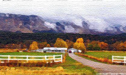 运用滤镜简单步骤将风景照片打造成油画效果