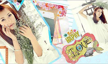 清新日系杂志风格版式的设计排版